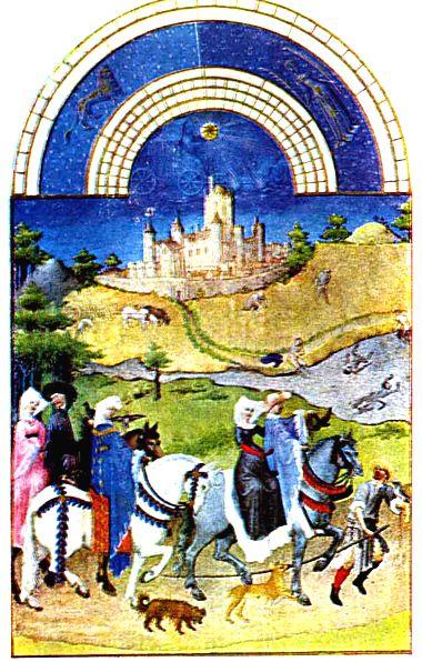 Худ братья лимбурги 15 век франция
