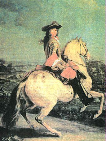 король франции людовик 14 познакомившись
